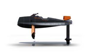 The-Cyberfoil-Corto-GT-by-Bird-e-Marine-model-Cyber-Black-profile-view